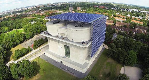 Bunkier Energetyczny w Hamburgu źródło: hamburgenergie.de