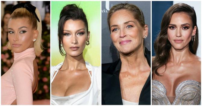 Evo kako slavne lepotice izgledaju bez šminke