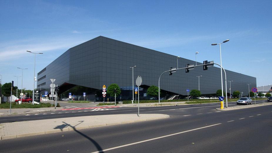 Budynek hali sportowo-widowiskowej Arena Toruń