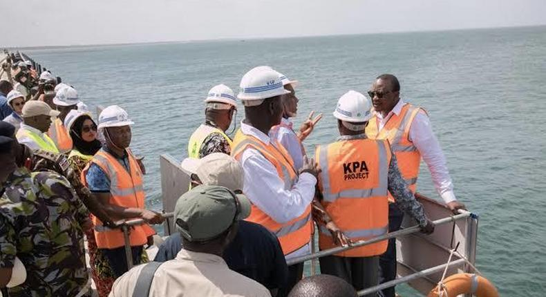 Lamu port is due to be launched later this year by President Uhuru Kenyatta. (thikatowntoday)