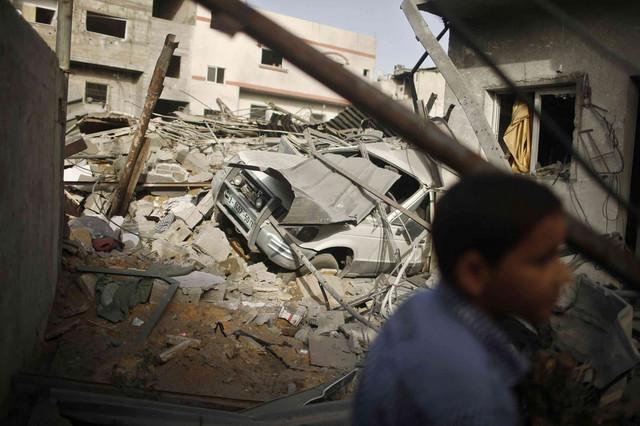 Ruševine u Gazi posle izraelskih raketnih napada