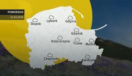 Prognoza pogody dla woj. pomorskiego - 22.03