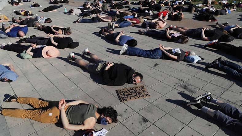 "Protest ""Black Lives Matter"" w USA"