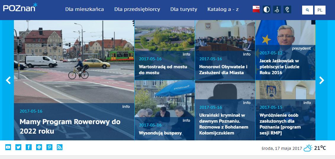 Zwycięska strona Poznania