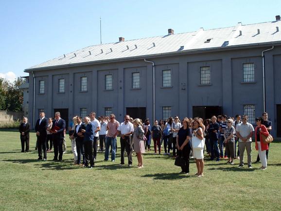 Ceremonija obelezavanja 75 godina od osnivanja logora
