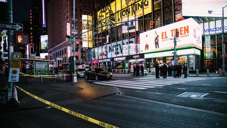 Times Square po strzelaninie