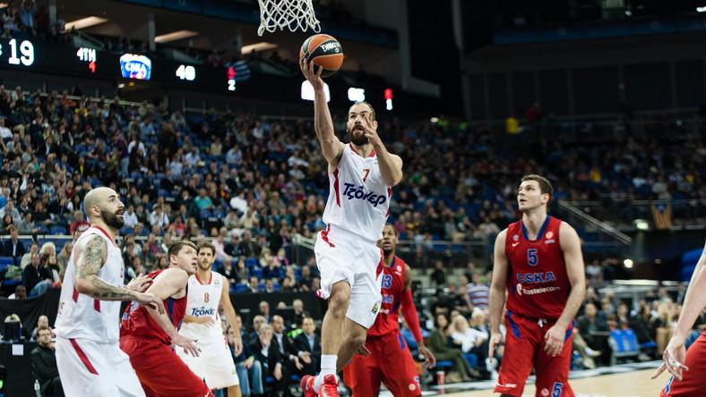 Olympiakos Pireus wygrał Euroligę