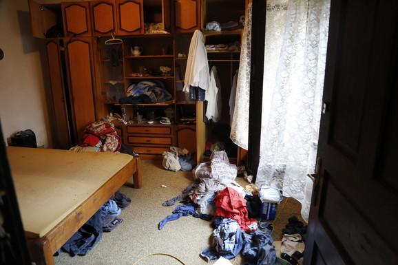 Dnevna soba u kojoj se desilo svirepo ubistvo