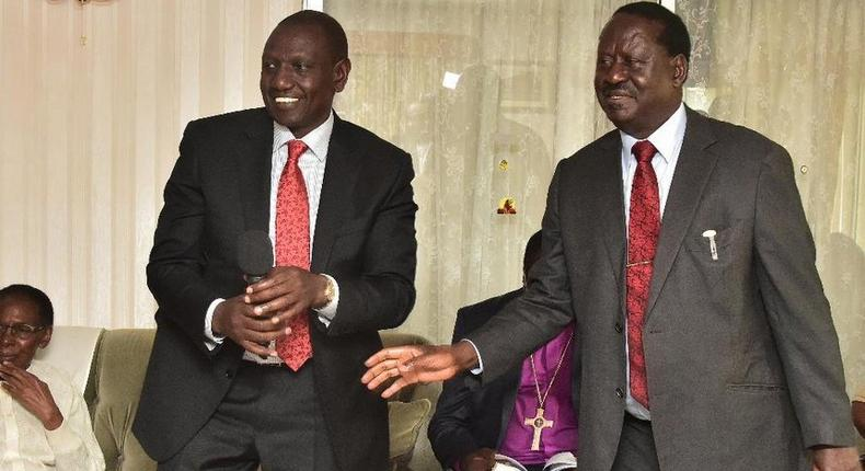Raila, Ruto lead Kenyans in mourning the death of Kiambaa MP Paul Koinange