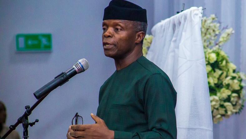 Osinbajo says Nigeria capable of being world's food basket. [Twitter/Buhari Sallau]