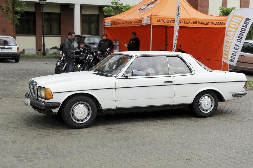 Samochód Mateusza Damięckiego