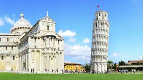 Krzywa Wieża w Pizie nie runęła w czasie trzęsień dlatego, że... jest krzywa