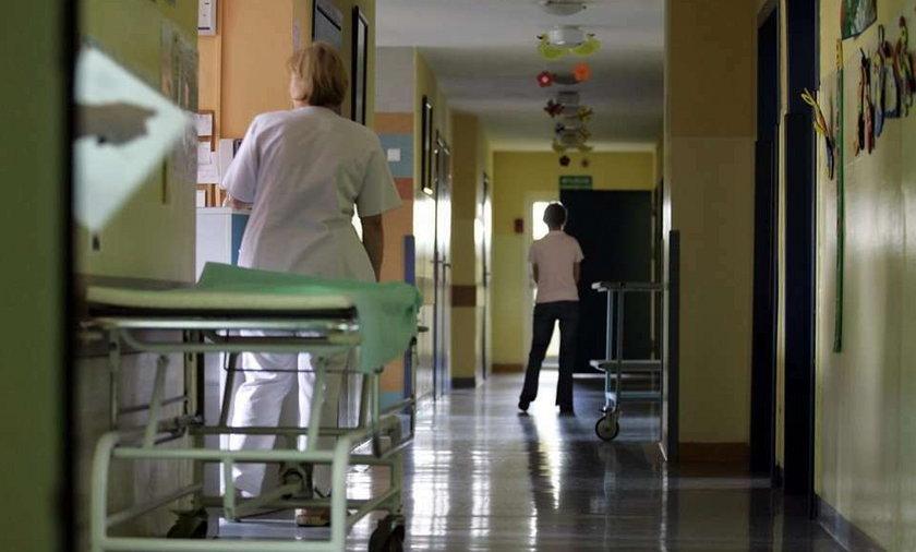 szpital, ilustracja