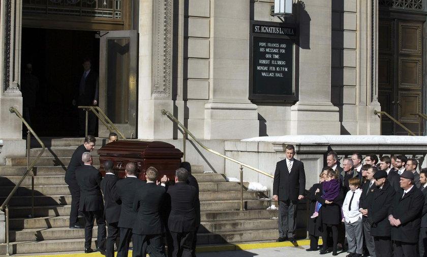 Pogrzeb Seymoura Hoffmana