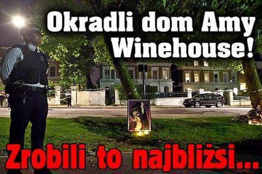 Okradli dom Amy Winehouse! Zrobili to najbliżsi...