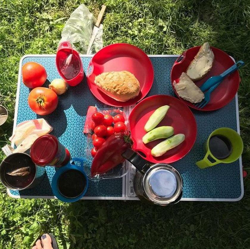 Posiłki Anity Sokołowskiej na wakacjach