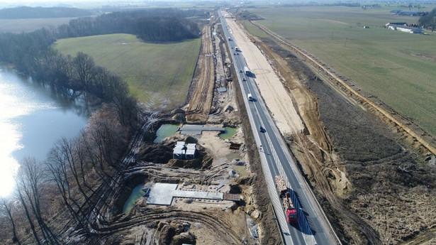 Budowa drogi ekspresowej S5, źródło: GDDKiA
