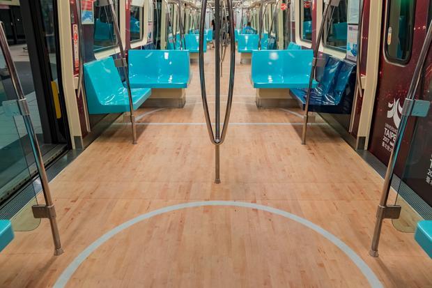 Niezwykła ozdoba metra z okazji Uniwersjady