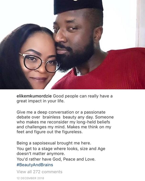 Elikem's Instagram Post