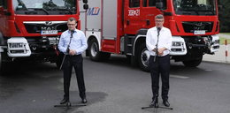 Ministerstwo rozda wozy strażackie za frekwencje w wyborach