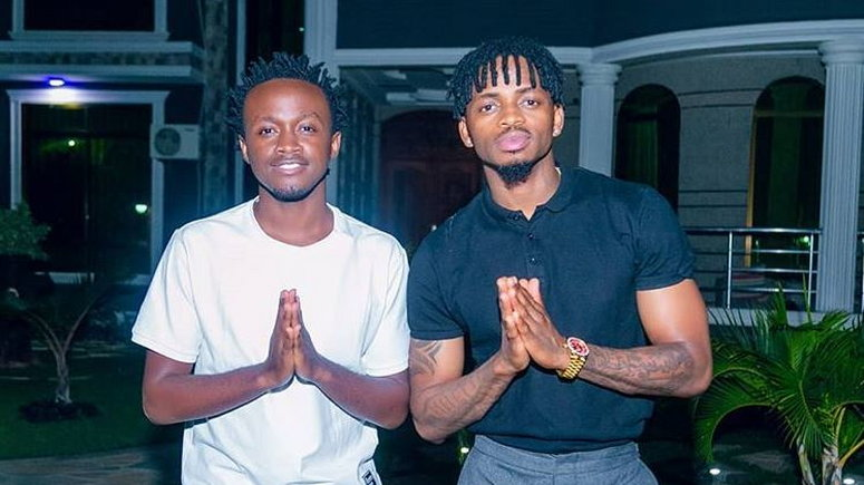 Image result for bahati signing a deal with diamond