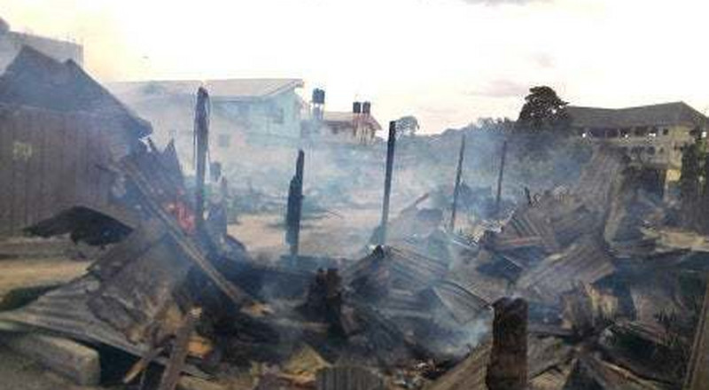 Over 1000 shops burnt in Benue market