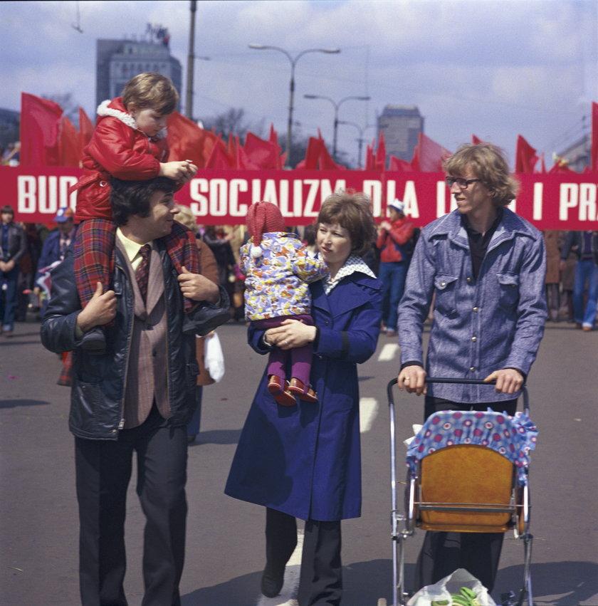 Majówka 2021. 1 maja. Tak Święto Pracy obchodzono w PRL
