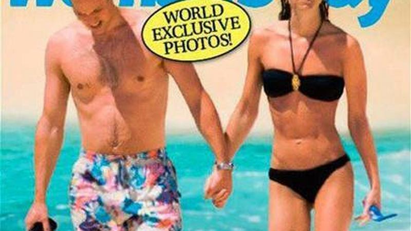 """Kate i William na plaży - okładka 'Woman's Day"""""""