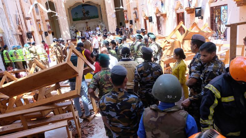Sri Lanka. Eksplozje