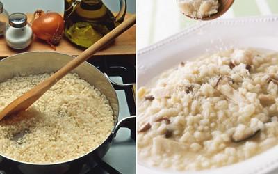 Obiad Na Weekend Risotto Z Prawdziwkami Włoska Kuchnia Wg