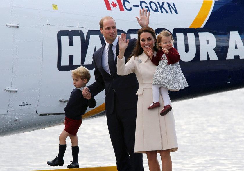 Księżna Kate z rodziną