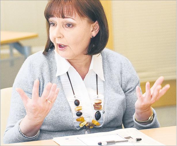 Jolanta Fedak, od 2007 roku minister pracy i polityki społecznej.