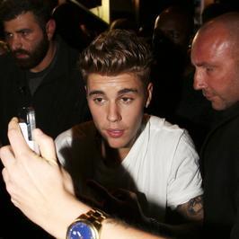 Pijany Justin Bieber w Cannes