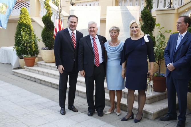 Zorana Mihajlović u poseti američkom ambasadoru