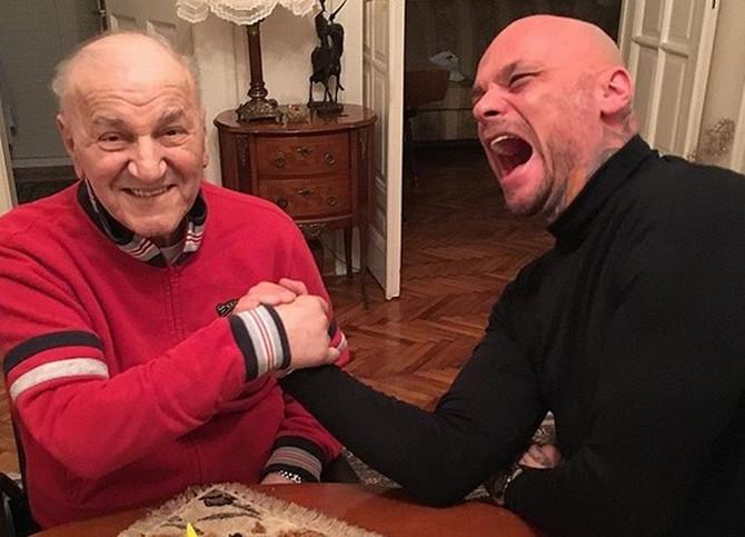 Goran Dželatović i Bata Živojinović