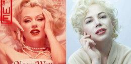Dwie aktorki jako Marilyn Monroe