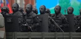 Tak żołnierze maskują ludzką twarz!