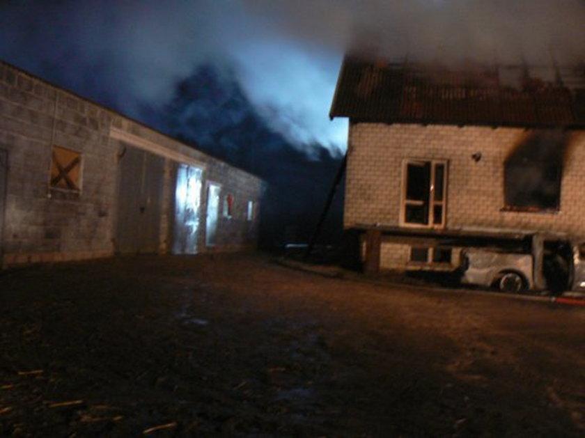 Pożar w Wilczogórze