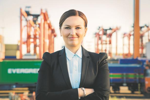 Lidia Dziewierska, prezes spółki Loconi Intermodal