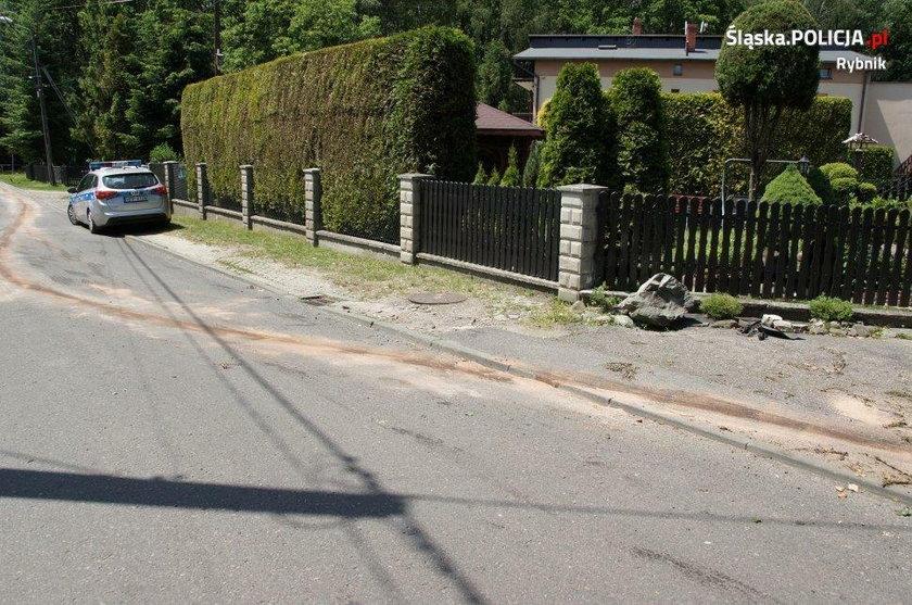 Otumaniony używkami 21-latek potrącił dziecko w Rybniku