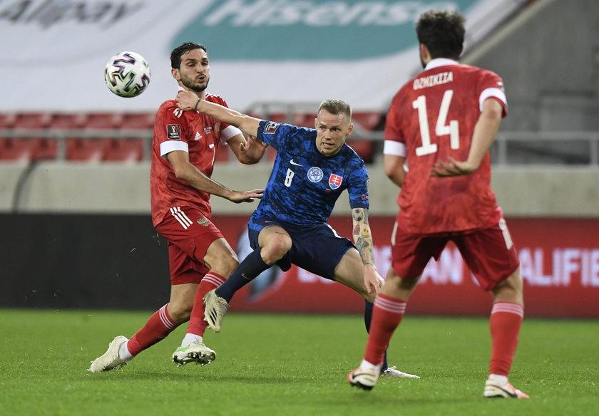 W marcu reprezentacja Słowacji pokonała w eliminacjach mistrzostw świata Rosję 2:1.