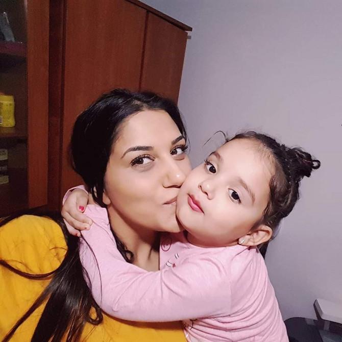 Sa ćerkicom