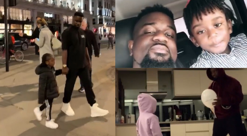 Sarkodie celebrates Titi's birthday with never seen before adorable videos (WATCH)