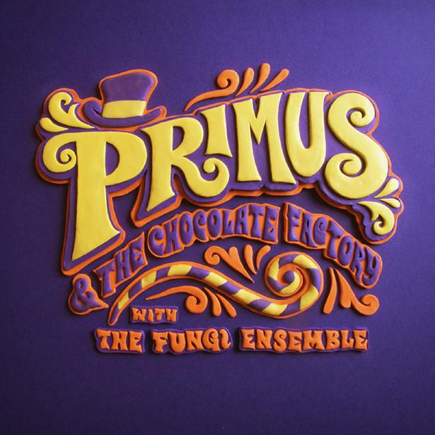 """Okładka albumu """"Primus and the Chocolate Factory""""."""