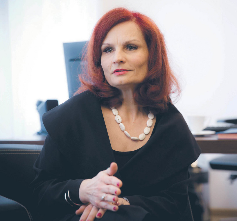 Magdalena Pietrzak, szefowa Krajowego Biura Wyborczego