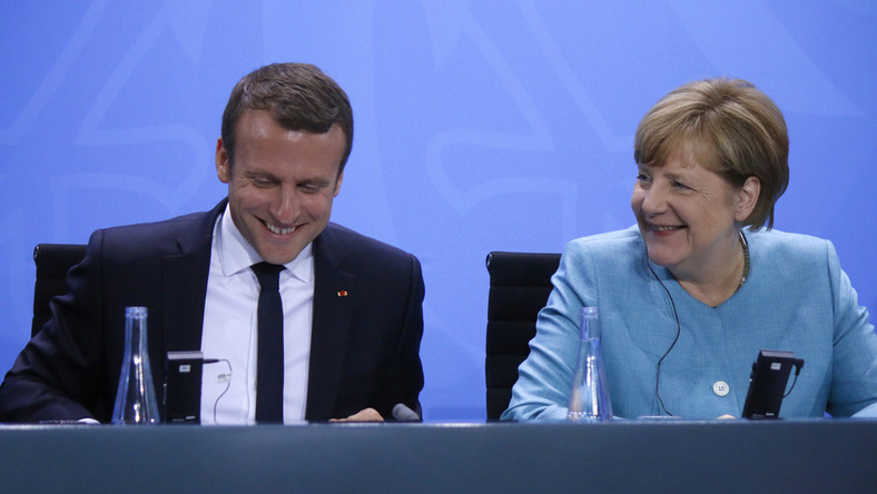 Macron i Merkel