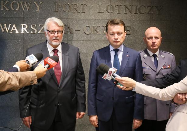 Witold Waszczykowski, szef MSZ: Sprawdzimy, czy dopilnowano procedur, by Polacy byli bezpieczni