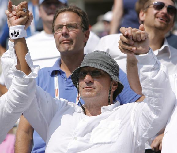 Robert de Niro je posmatrao meč Novaka Đokovića i Davida Ferera 2007. godine na US Openu