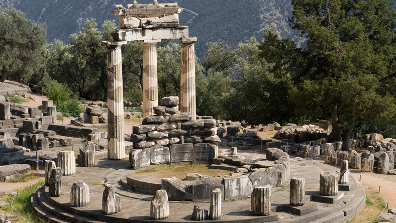 Grecja, Delfy