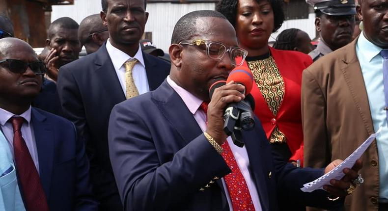 Finance CEC Charles Kerich, 15 others suspended by Nairobi Governor Mike Sonko over Precious Talents school tragedy